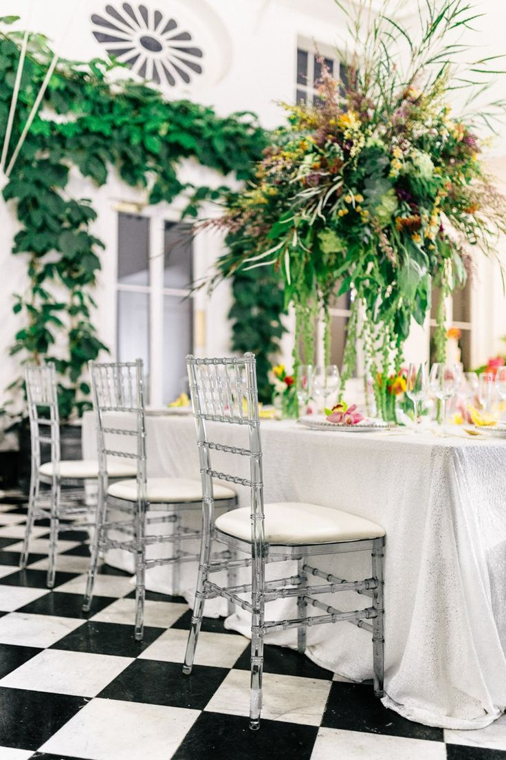 Acrylic Chairs Modern Fresh Watercolour Wedding Ideas Http Www Beatriciphotography Co