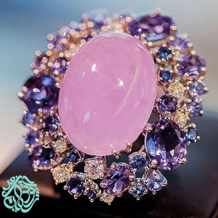 Lovely Rose Quartz Ring. .... @kowsarifar