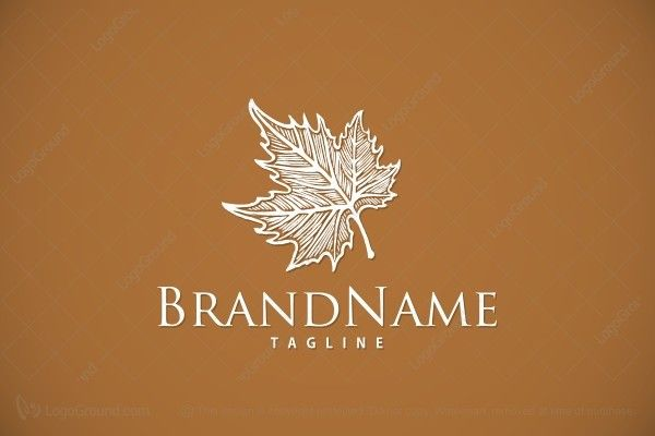 Logo for sale: Maple Leaf Logo