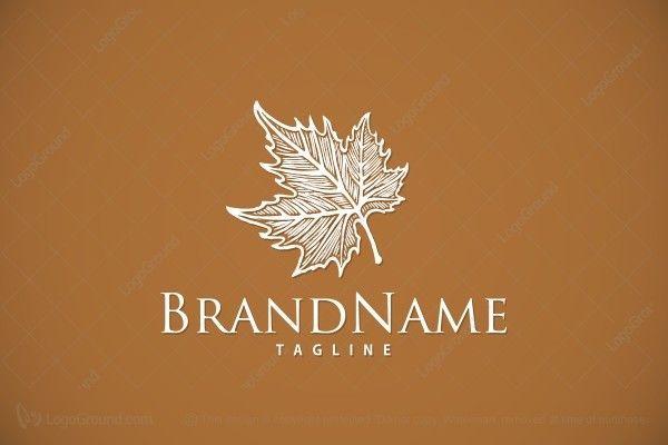 Logo for sale: Maple Leaf Logo