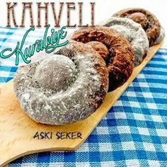Aşk-ı Şeker: KAHVELİ KURABİYE tarifi tatlı yemek hamurişi tarifleri lezzetli denenmiş yemek tarifleri Belgin Binici