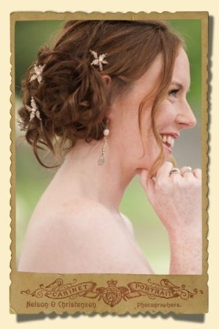 Stacey Hannan Designs - Small gold beaded daisy bridal hair pin, €28.00 (http://www.staceyhannandesigns.com/small-gold-beaded-daisy-bridal-hair-pin/)