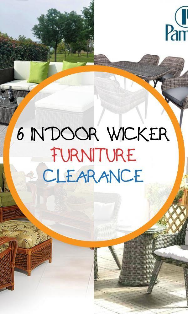 Indoor Wicker Furniture Clearance, Indoor Wicker Furniture Clearance