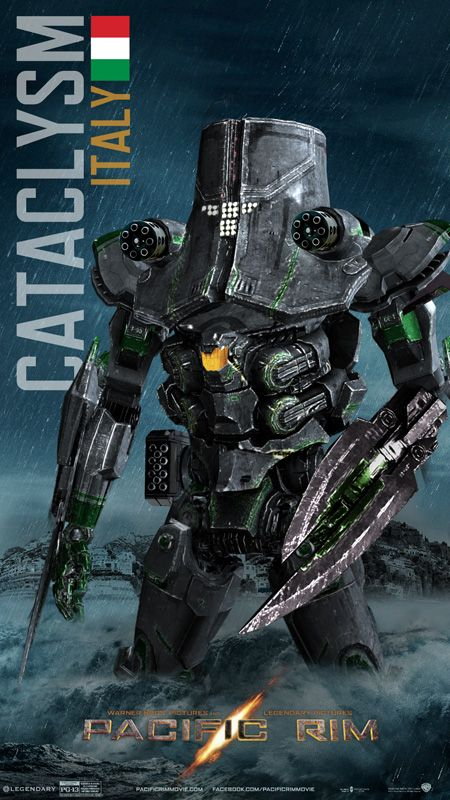 Pacific Rim Jaeger Cataclysm/Italy by ~rs2studios