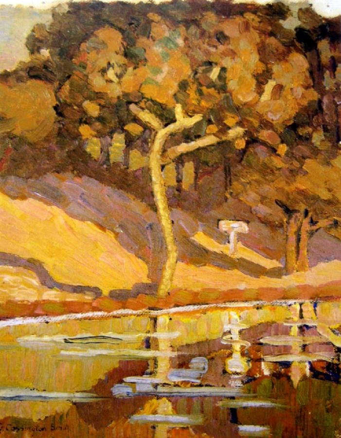 Pool, Late Afternoon, 1919