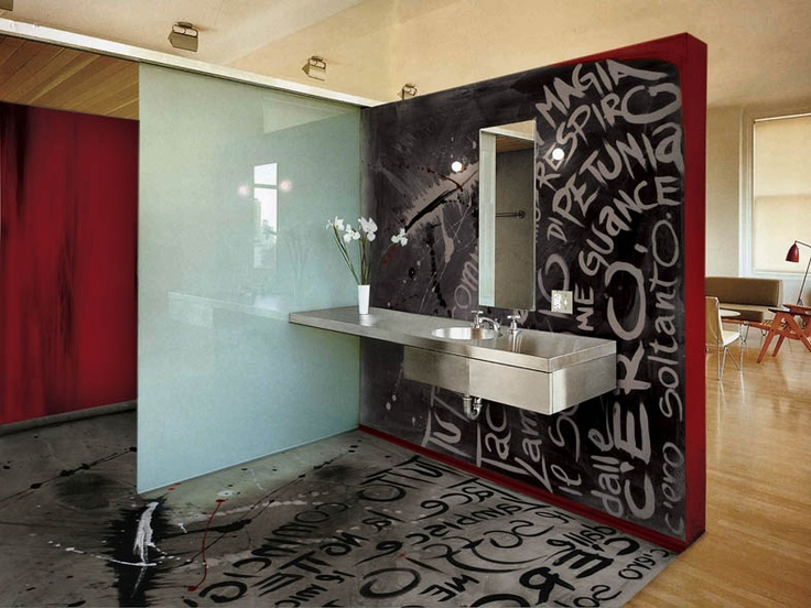 funky bathroom flooring 74 best images about resin floor on glass 12933