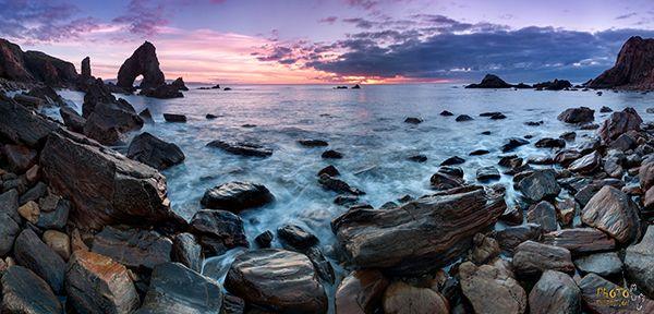 фототур, ирландия, закат, океан