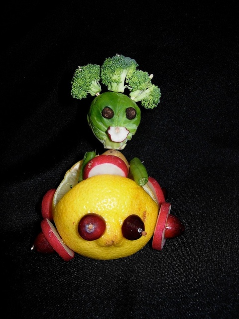 how to make a vegetable car