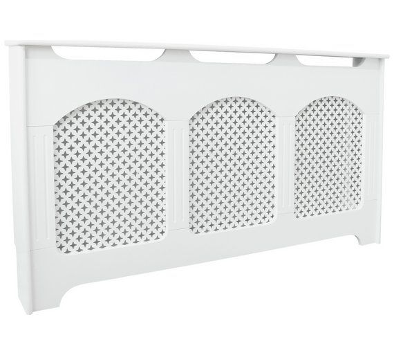 Buy Collection Winterfold Large Radiator Cover - White at Argos.co.uk, visit Argos.co.uk to shop online for Radiator covers, Home furnishings, Home and garden