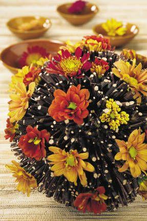 Осенние букеты – лучшее лекарство от осенней хандры