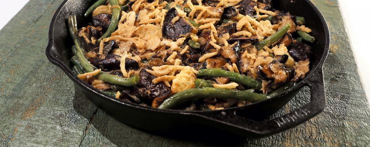 Green Bean Poutine by Michael Symon. This spin on a Thanksgiving classic will please the whole family!