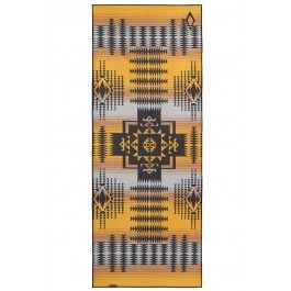 Roswell Yellow Recycled Mat Towel