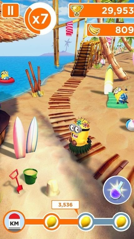 Minion Rush: Despicable Me Official Game APK v4.9.0h (Mod) - Android game - Android MOD Game