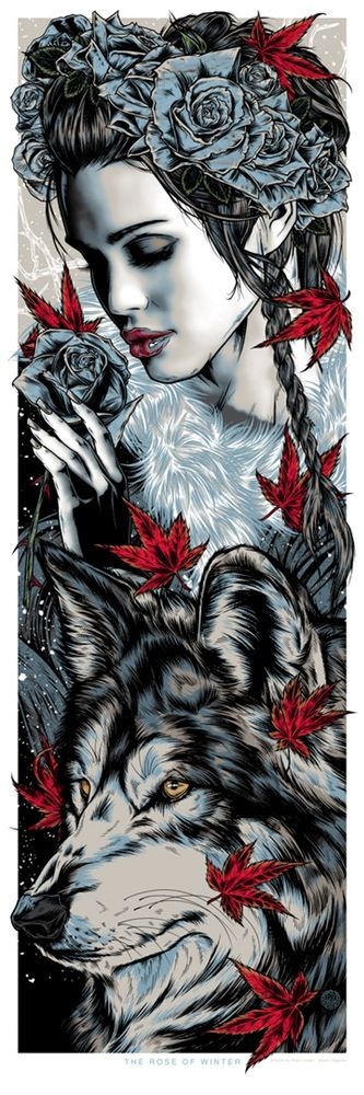 The Rose Of Winter (Lyanna Stark) by Rhys Cooper