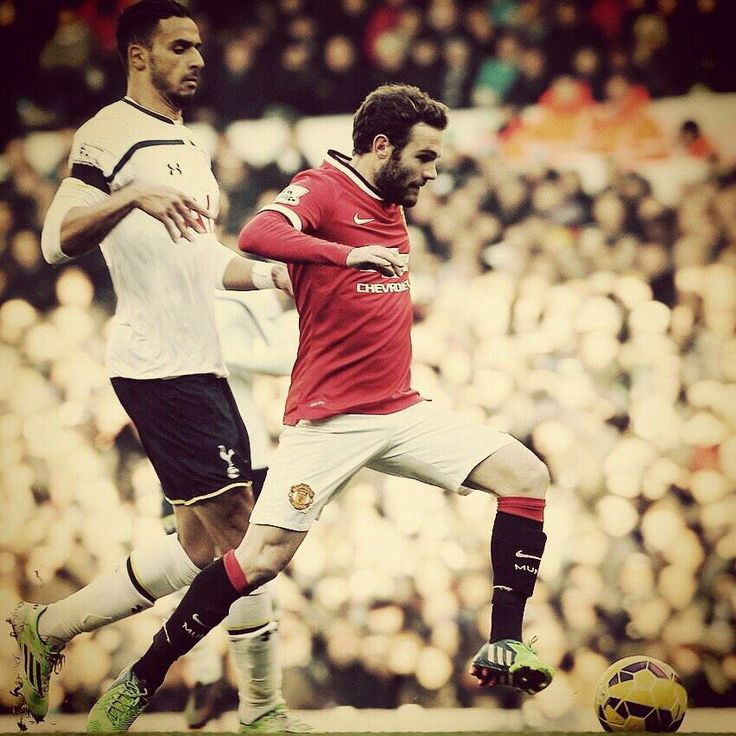 Juan Mata he's the runner.
