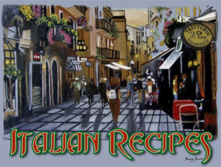 Lots of italian recipes