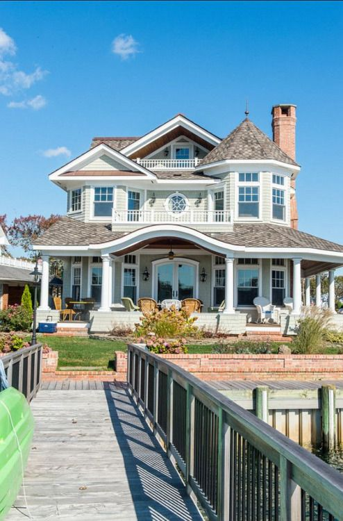 beautiful home on the water