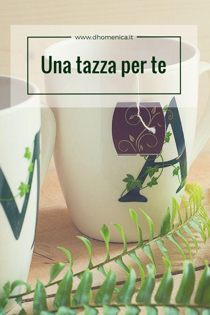 Tazze da tè con l'iniziale del tuo nome: un nuovo arrivo per il nostro momento di relax. Firmate La Porcellana Bianca, sono semplici ed eleganti, ideali per un regalo personalizzato. Dai un'occhiata sul nostro blog http://www.dhomenica.it/index.php/blog-dh/tazze-da-te-con-lettere