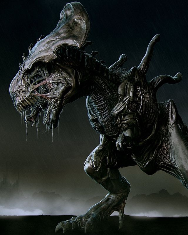 This Xenomorph T-Rex Is Much More Terrifying Than The