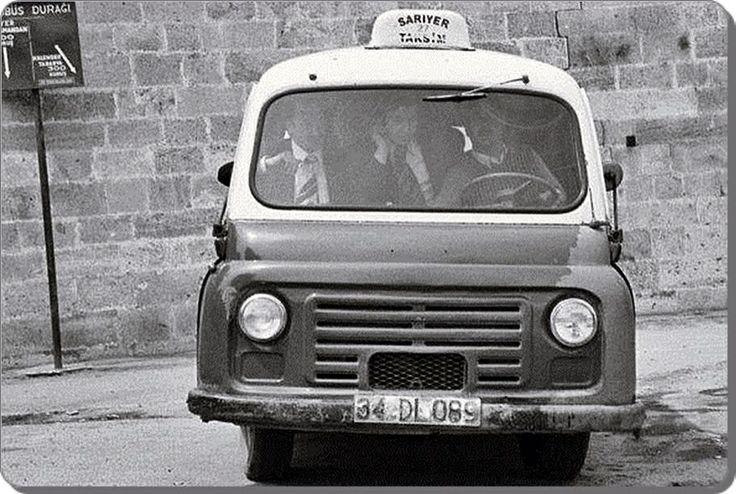 Sariyer Taksim minibusu 1972