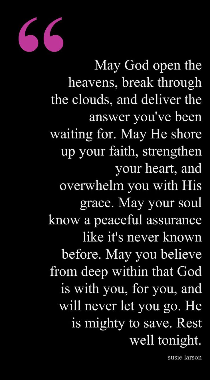 End of Day Blessing - AMEN! Love this :)