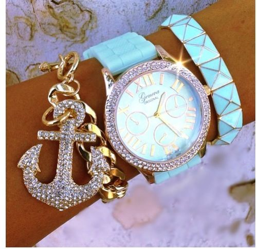 Check the way to make a special photo charms, and add it into your Pandora bracelets. Arm candy - NAUTICAL :)