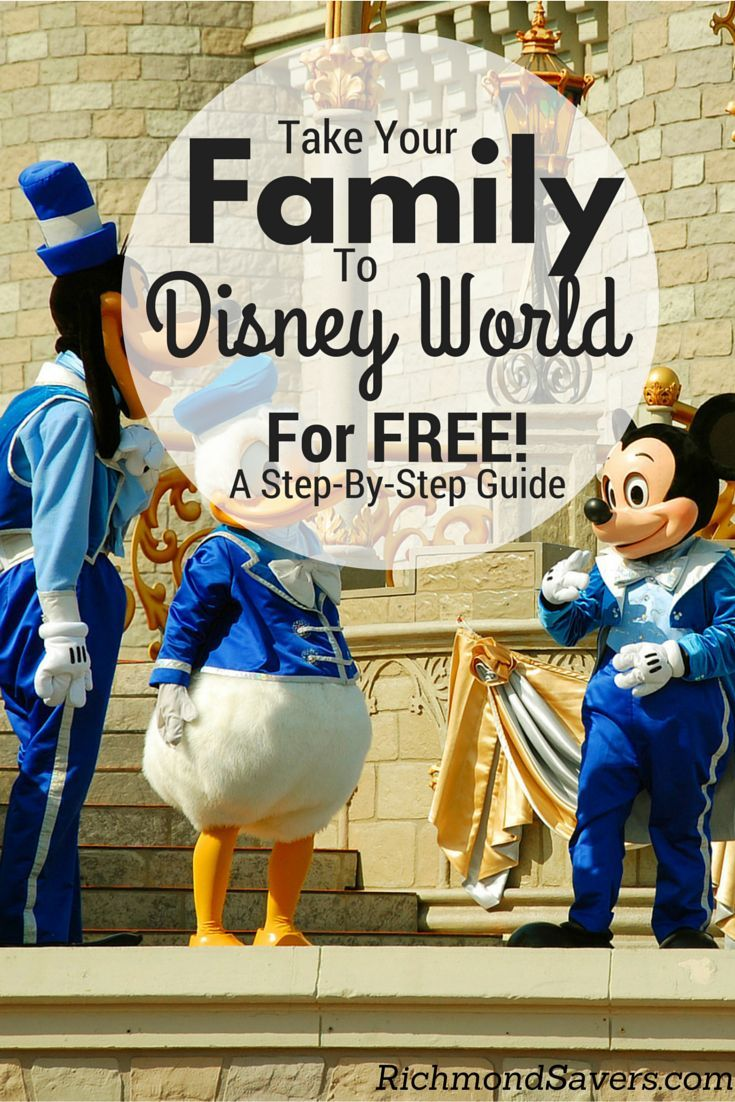 As featured in the New York Times, CBS and NBC, here's our step-by-step guide on how to take a nearly free family trip to Walt Disney World ($4,000+ savings) using credit card rewards points! http://www.richmondsavers.com/take-your-family-to-disney-world-for-free-step-by-step-instructions/