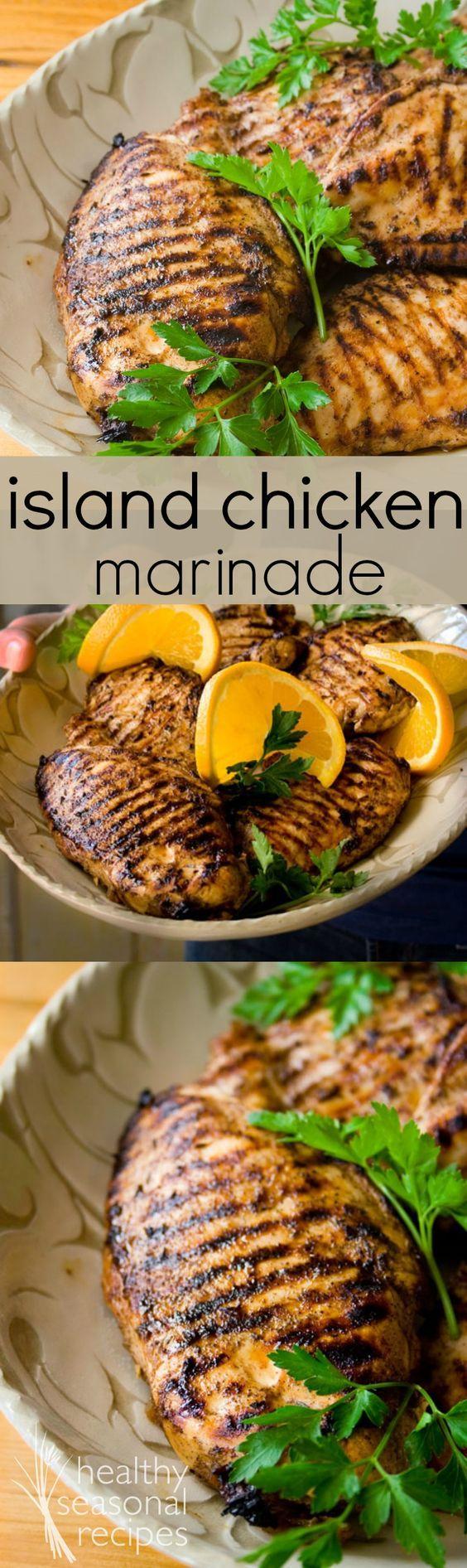 isabel's island chicken marinade - Healthy Seasonal Recipes