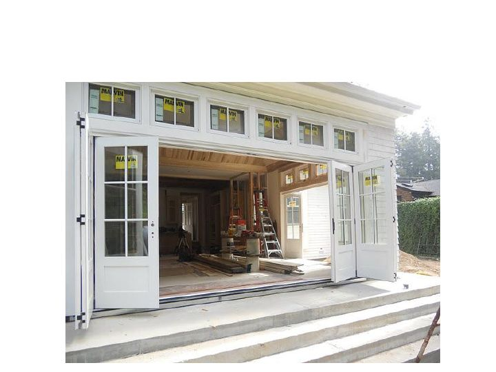Marvin Clad Bifold Door And Cat Transoms Marin Gl