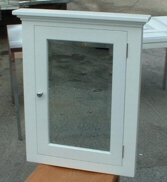 Superieur Hand Crafted RECESSED Crown Top Medicine Cabinet Love This $325 And Can Be Custom  Made