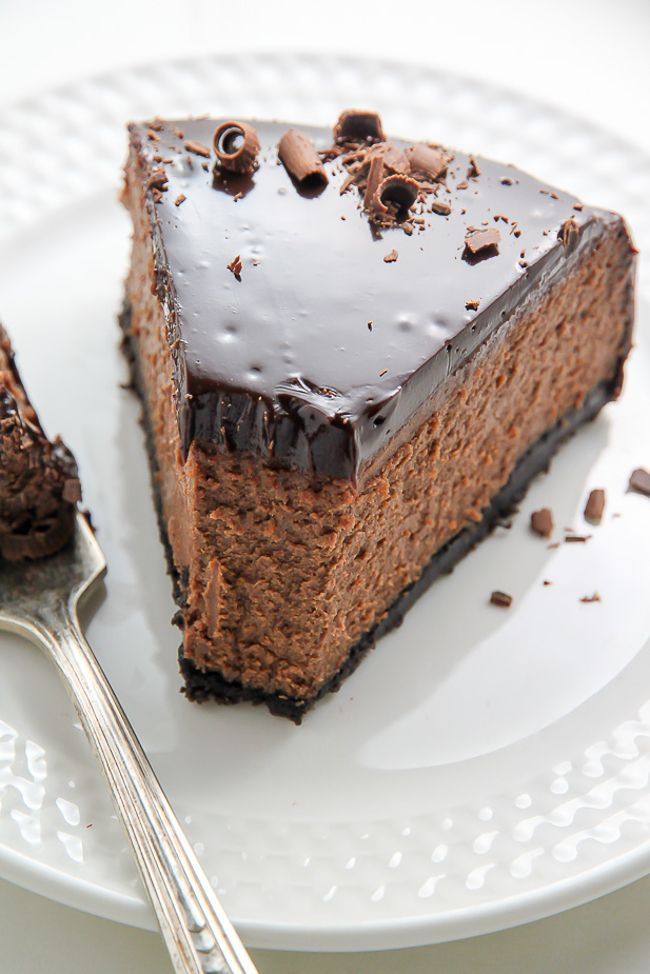kahlua chocolate cheesecake | baker by nature