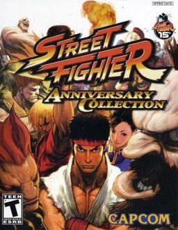 Street Fighter Anniversary Collection Xbox/Ps2
