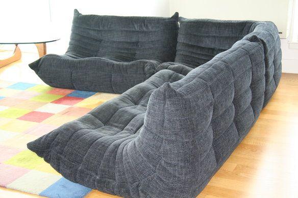 Ligne roset togo 3 section sofa blog ligne roset et canap s - Housse canape togo ligne roset ...