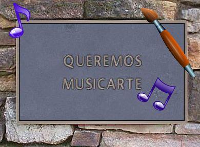 Queremos MusicArteEste proyecto comienza a partir de la inquietud de un grupo de profesores de Música y Educación Plástica ante una situación educativa que va dejando en la cuneta, paulatina e inexorablemente, a las áreas de educación artística y musical, a pesar de la importancia que tienen para la formación del individuo.