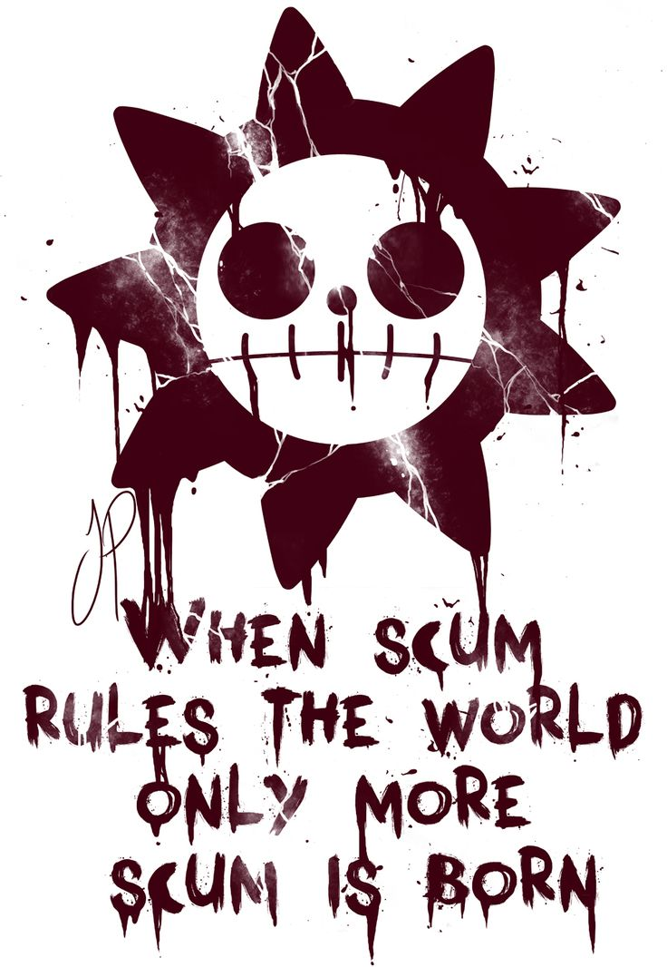 When scum rules the world only more scum is born/Kidd Pirates/One piece