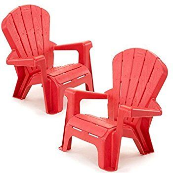 Amazon.com: Kids or Toddlers Plastic Chairs 2 Pack Bundle,Use For Indoor,Outdoor, Inside Home,The Garden Lawn,Patio,Beach,Bedroom Versatile and Comfortable Back Support and Armrests Childrens Chairs.5 Colorful Little Tikes Contemporary Colors Make a Perfect Childs Chair. (RED): Toys & Games