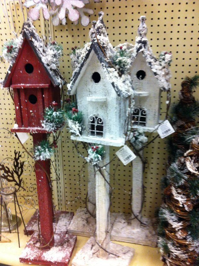 67 best Birdhouses images on Pinterest | Bird houses, Christmas ...
