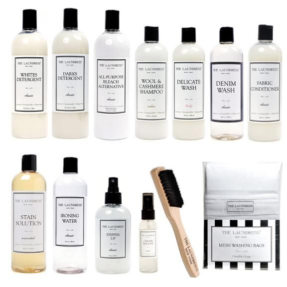 The Ultimate Laundress Set. Everything you need to keep your clothes perfect!