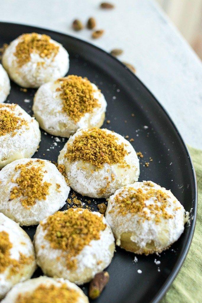 Pistachio Snowballs Cpa Certified Pastry Aficionado Mexican