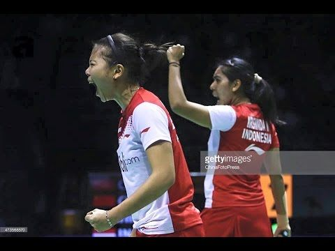 [HD] SF - 2015 Victor Korea Open - Luo Ying /Luo Yu vs Greysia Polii/Nit...