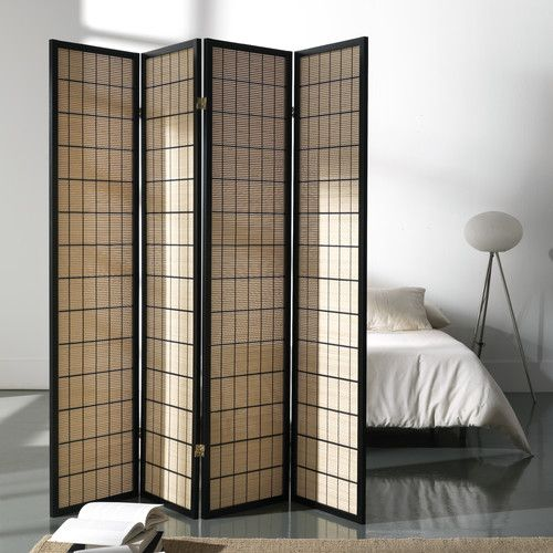 Found it at Wayfair.co.uk - 180cm x 180cm Folding Screen 4 Panel Room Divider