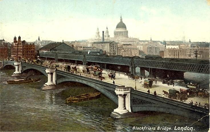 London, Blackfriar's Bridge