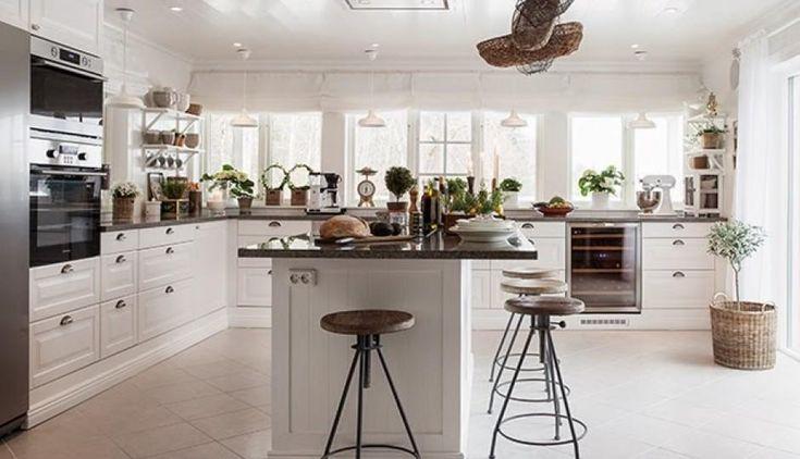 315 best cocinas y comedores images on pinterest small - Como disenar una cocina ...