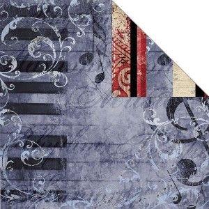 Melody Symphony Stripe Paper