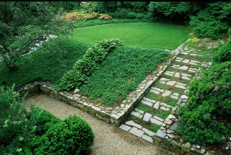 Картинки по запросу extremely sloped garden solutions