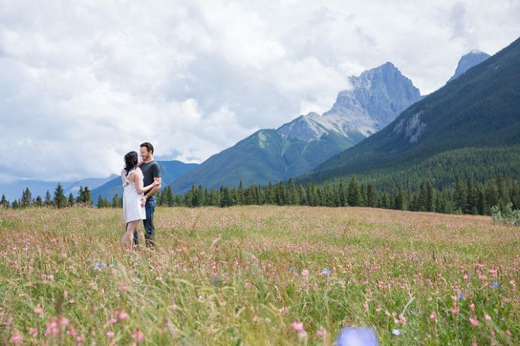 Engagement Shoot Of Nicole Neil In Canmore Banff Engagement Shoots Engagement Engagement Session