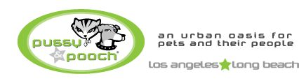 Los Angeles Pet Store | Long Beach Pet Store | Online Pet Store | Pet Social Network - Pussy & Pooch Pethouse and Pawbar