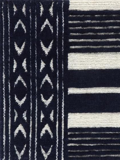 Knotted Ethic Stripe Rug Victoria Hagan For Holland