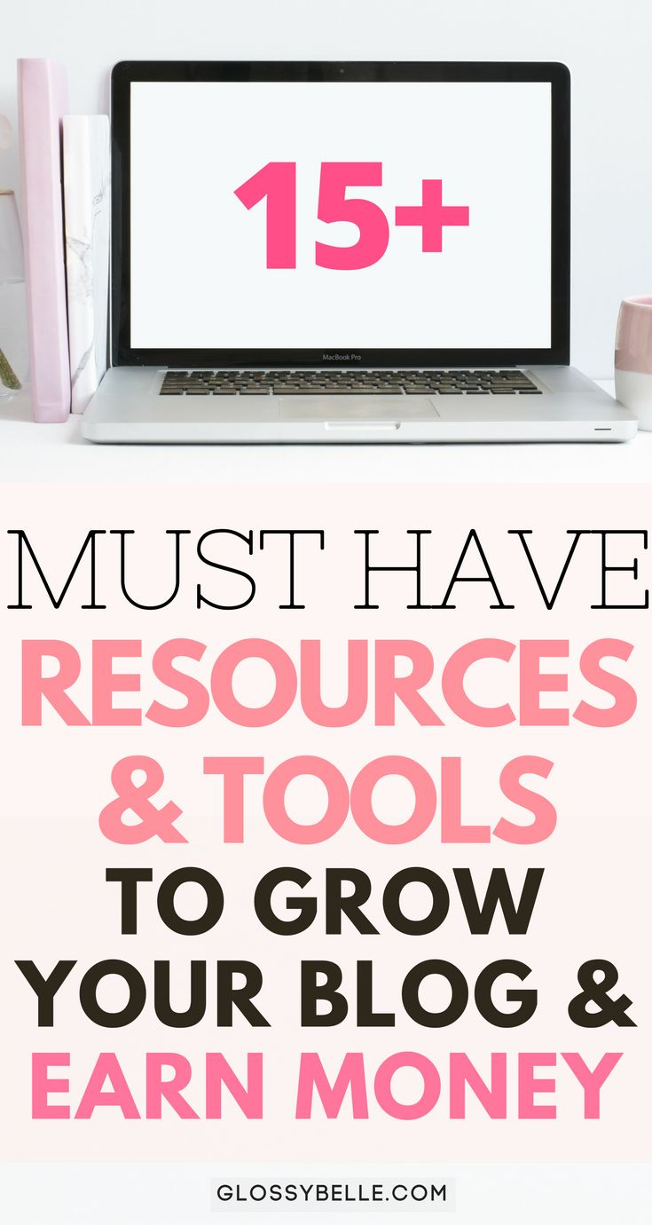 If you're just starting your blogging journey and you want to monetize and grow your blog, here are 15+ must have helpful resources and tools to help grow your blog and earn extra money. girl boss | affiliate marketing | make money from home