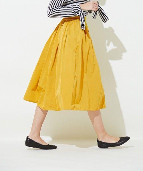 ふわり、揺れる。大人可愛いギャザースカートを手作りしませんか?